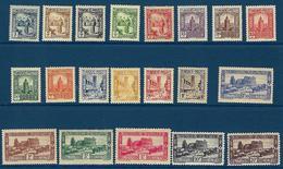 "Tunisie YT 161 à 180 "" Série Complète "" 1931-33 Neuf**/* - Tunisia (1888-1955)"