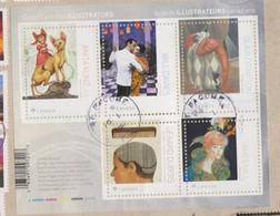 CANADA  FEUILLET Grands Illustrateurs Canadiens - 1952-.... Elizabeth II