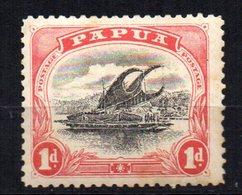 Sello  Nº 41  Papua - Papúa Nueva Guinea