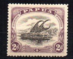 Sello  Nº 35  Papua - Papúa Nueva Guinea