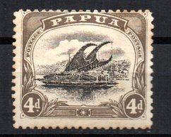 Sello  Nº 44  Papua - Papúa Nueva Guinea