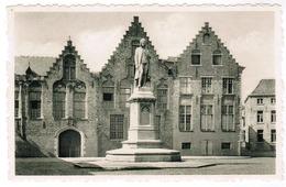 Brugge, Bruges, Memlingplaats En Standbeeld (pk55032) - Brugge