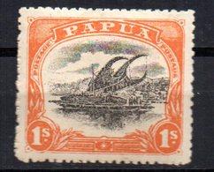 Sello  Nº 46  Papua - Papúa Nueva Guinea