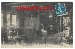 CPA - Une Salle Du Moulin De Rosmadec - PONT AVEN 29 Finistère - Coll. Villard à Quimper - Scans Recto-Verso - Pont Aven