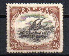 Sello  Nº 47  Papua - Papúa Nueva Guinea