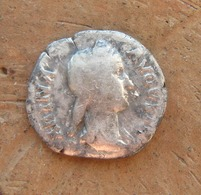 Ancient Roman Silver Coin. Original!!! - Archéologie
