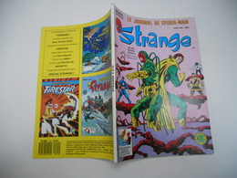 STRANGE EDITION LUG N°215 LA DIVISION ALPHA  L'ARAIGNEE LES DEFENSEURS + LES VENGEURS TBE C1 - Strange