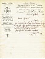 Brief 1911 ANTWERPEN - DUNKERQUE -  KOCH & REIS -  RAFFINERIE DU NORD - Soufre Breveté Et Savonnerie - Belgique