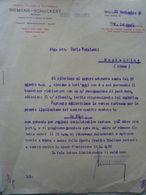 """Lettera Commerciale """"SIEMENS - SCHUCKERT ANONIMA Milano"""" Milano 25 Settembre 1915 - Italia"""