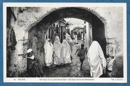 MAROC TETUAN TETOUAN UN TROZO DE LA CALLE MUKADEM UNUSED - Marocco