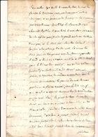Contrat D'exploitation Près De Waremme En 1793 - Manuscripts