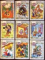 Anguilla 1983 Dickens Disney Christmas MNH - Anguilla (1968-...)