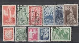 Lettonie _ 1937 -  N°  211/221 - Latvia