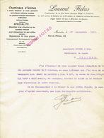 Lettre 1910 BRUXELLES - LAURENT FIEBUS - Constructeur De Cheminées D'usines - Belgique