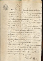 Contrat De Partage De Terres Près De Waremme - Manuscripts