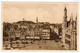 Brugge, Bruges, Hoek Der Grote Marktplaats (pk55043) - Brugge