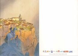SCHUITEN : Carte Double SOLLIES 2008 (2) - Postcards