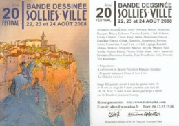 SCHUITEN : Carte Annonce SOLLIES 2008 - Postcards