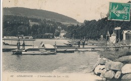 CPA - France - (88) Vosges - Gérardmer - L'Embarcadère Du Lac - Gerardmer