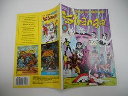 STRANGE EDITION LUG N°211 LA DIVISION ALPHA  L'ARAIGNEE LES DEFENSEURS + DAREDEVIL TBE - Strange