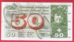 Suisse - 50 Francs 5/1/1970  -  Pick # 48 -  état  TB+ - Suisse
