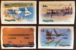 Anguilla 1982 Commonwealth Games Birds MNH - Anguilla (1968-...)