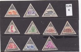 Nicaragua  -  Lote  10  Sellos Diferentes  -  1/275 - Nicaragua