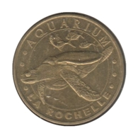 0054 - MEDAILLE TOURISTIQUE MONNAIE DE PARIS 17 - Aquarium La Rochelle - 2009 - Monnaie De Paris