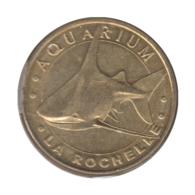 0055 - MEDAILLE TOURISTIQUE MONNAIE DE PARIS 17 - Aquarium La Rochelle - 2010 - Monnaie De Paris