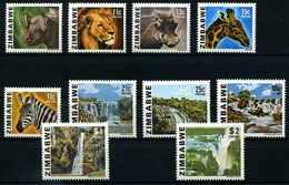 SIMBABWE 1980 Nr 232-241 Postfrisch (107927) - Zimbabwe (1980-...)