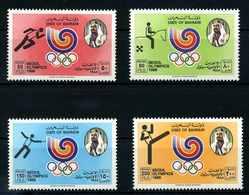 BAHRAIN 1988 Nr 380-383 Postfrisch (108010) - Bahreïn (1965-...)