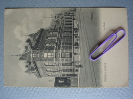 MIDDELKERKE : La Poste Avant  1906 - Middelkerke