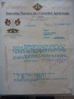 """Lettera Commerciale """"INDUSTRIA MARMELLATA E CONDSERVE ALIMENTARI MARCA SOPRANA Sede In GENOVA"""" Voghera 19 Settembre 1932 - Italie"""