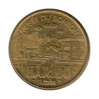 0106 - MEDAILLE TOURISTIQUE MONNAIE DE PARIS 30 - Musée Du Bonbon Haribo - 2012 - Monnaie De Paris