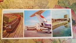 Russia . Rostov Airport. 1970s. Aéroport - Tu 154 Avion - Aéroplane. Long Format - Aerodromi