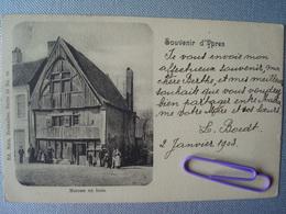 IEPER : Maison En Bois En 1903 - Ieper