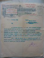 """Lettera Commerciale """"PREMIATA FABBRICA DISTILLERIE A VAPORE G. QUINZANI & C. MILANO"""" Milano 14 Marzo 1932 - Italië"""