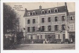 CPA 03 MONTLUCON Hotel De La Gare - Montlucon