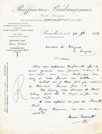 Lettre 1926 BRUXELLES - RAFFINERIES BRABANCONNES - Anciennes Usines HENRI HALKETT & Cie - Sucre Blanc, Candi, Cassonade - Belgique