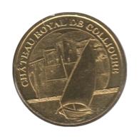 0228 - MEDAILLE TOURISTIQUE MONNAIE DE PARIS 66 - Château Royal Collioure - 2016 - 2016