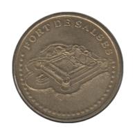 0234 - MEDAILLE TOURISTIQUE MONNAIE DE PARIS 66 - Le Fort De Salses - 2006 - Monnaie De Paris
