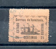 Venezuela. Estado Guyana. 25 Centimos. 2ème Choix - Venezuela