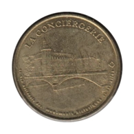 0241 - MEDAILLE TOURISTIQUE MONNAIE DE PARIS 75 - La Conciergerie CNMHS - 2001 - 2001