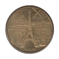 0243 - MEDAILLE TOURISTIQUE MONNAIE DE PARIS 75 - 5 Monuments Paris - 2013 - 2013