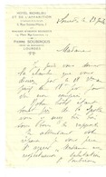 LETTRE DE PIERRE SOUBIROUS NEVEU DE BERNADETTE SIGNEE - Old (before 1900)