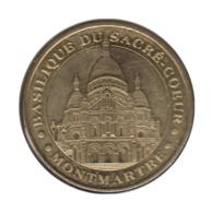 0258 - MEDAILLE TOURISTIQUE MONNAIE DE PARIS 75 - Sacré Coeur - 2010 - Monnaie De Paris