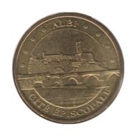 0273 - MEDAILLE TOURISTIQUE MONNAIE DE PARIS 81 - Cité Episcopale - 2014 - Monnaie De Paris