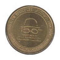 0280 - MEDAILLE TOURISTIQUE MONNAIE DE PARIS 81 - Musée Toulouse Lautrec - 2014 - Monnaie De Paris