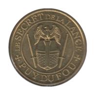 0297 - MEDAILLE TOURISTIQUE MONNAIE DE PARIS 85 - Puy Du Fou - 2017 - 2017