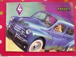 Catalogue 4CV Renault Régie Nationale. En Espagnol. 1958. Bon état - Advertising